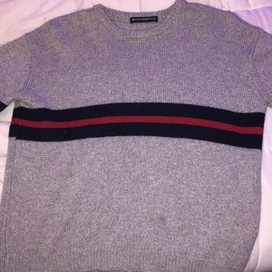 Grey Knitted Brandy Melville Sweater